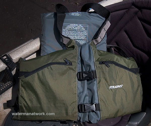 Kayak fishing wear for Kayak fishing vest