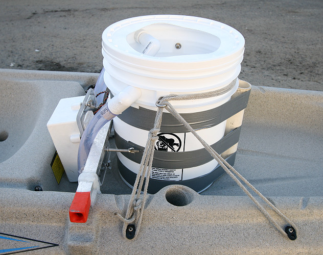 live well hook up Toho-rig livewell for sale large capacity aerated livewell ruggedly constructed from molded polyethylene the toho-rig features a removable divider, large storage compartment and 360 gallons per hour pump.