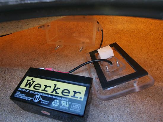 Install a fishfinder for Kayak fish finder install
