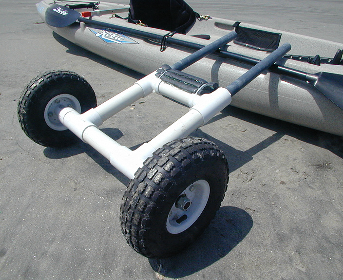 A Scupper Dolly Made From PVC Tubing